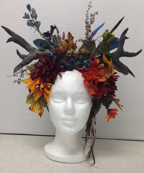 Our newest DIY Blog features this awesome headdress. Learn the how-to's right here!                                                                                                                                                                                 More