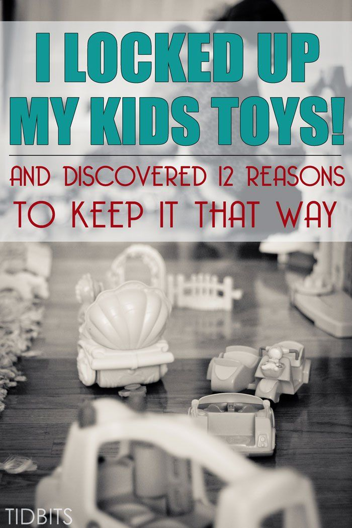 Lock Up My Generator : I locked up my kids toys and discovered reasons to