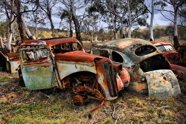 rusty old car - Google Search