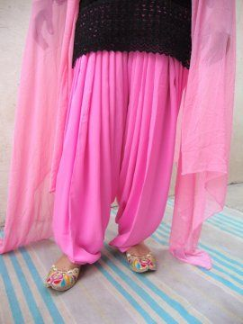 Patiala Dupatta Set with customised sttching from Patiala City