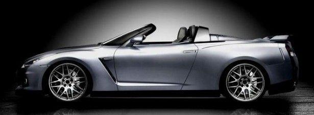 """Cars - Nissan GT-R : NCE prépare l'été en enlevant le toit de """"Godzilla"""" ! - http://lesvoitures.fr/nissan-gt-r-nce-convertible/"""