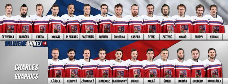#CZE  QF  roster #WC2016  nmes and faces Czech team  https://www.facebook.com/MilujemeHokej/photos/a.323095154426806.70373.323069101096078/1016374585098856/?type=3
