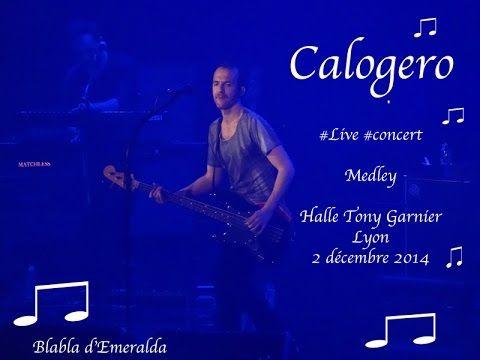 Concert de Calogéro Lyon 2 décembre 2014