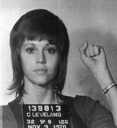 Jane Fonda. Traitor !!!!! Communist sympathizer!