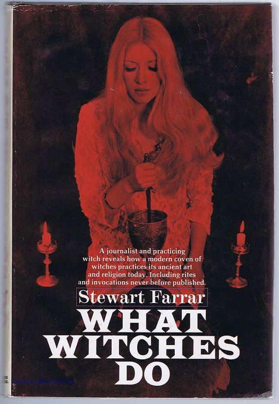 What Witches Do by Stewart Farrar 1971 Hardcover by SubRosaMagick, $35.00