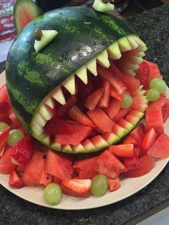 Melonen-Hai, ein sehr schönes Rezept aus der Kategorie Dessert. Bewertungen: 112. Durchschnitt: Ø 4,8.