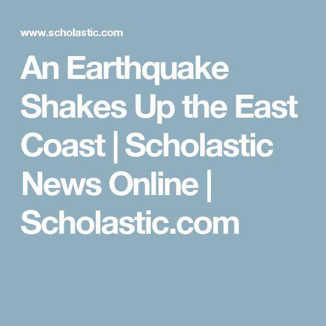 An Earthquake Shakes Up the East Coast | Scholastic News Online | Scholastic.com