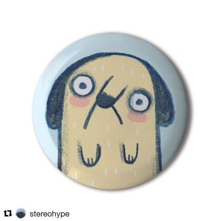 Super sad dog badge for @stereohype 🐶😥#Repost @stereohype (@get_repost)  ・・・  ❤️ #BBOTD @stereohype #button #badge of the day by @linziehunter https://www.stereohype.com/917__linzie-hunter #sad #dog #saddog #pet • Another great #stbbmp contender • #design #illustration #random #graphicart #fashion #accessories #accessorize #menstyle #menswear #mensfashion #womenstyle #womensfashion #style #lapel #pin #london #giftidea #giftideas #animal