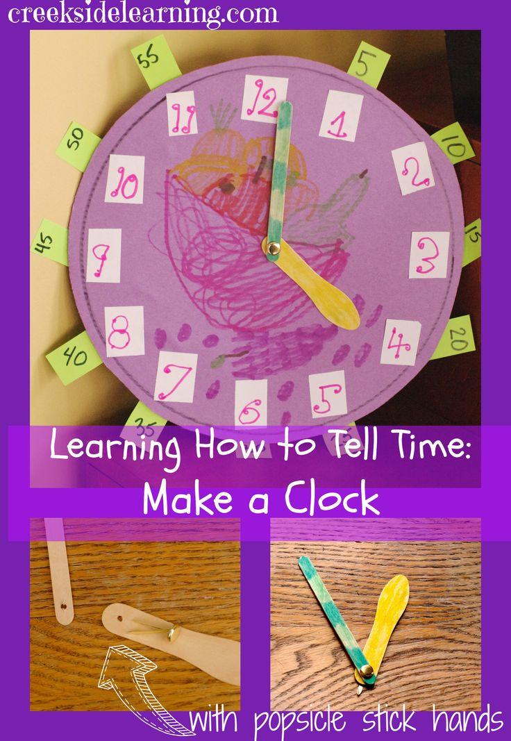 Best 25+ Make A Clock Ideas On Pinterest