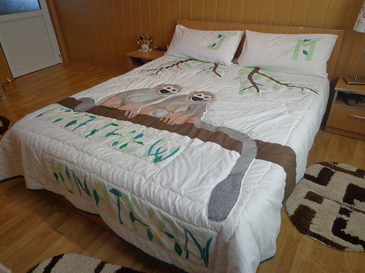 Quiltting- bedspread