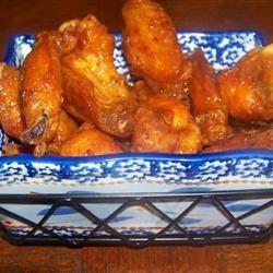 Alitas de pollo picantes @ allrecipes.com.mx