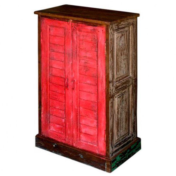 Fuschia Shutter Door Cabinet  http://www.theimporter.co.nz/collections/new