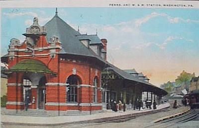 Pennsylvania Railroad Washington And Waynesburg Railroad