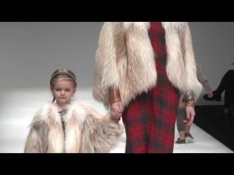 Mom & Kids Collection - Saga Furs 30th Anniversary in China Fashion Show