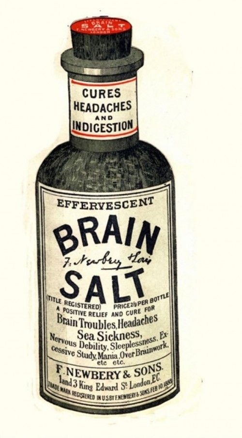 Brain salt for just about any problem with the brain
