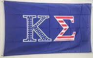 Brothers and Sisters' Greek Store - Kappa Sigma USA Pattern Letter Flag, $24.95 (http://www.brothersandsistersgreekstore.com/kappa-sigma-usa-pattern-letter-flag/)