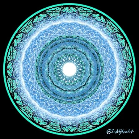Make sure you have an outlet for expression in life. Happiness can greatly depend on it. #think #perspective #life #mandala #digitalart #sacredgeometry #geometricart #selfexpression