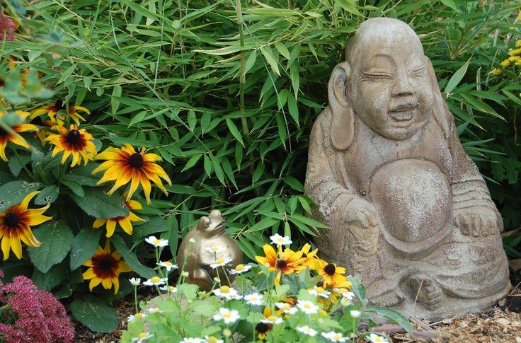 The happy Buddha.