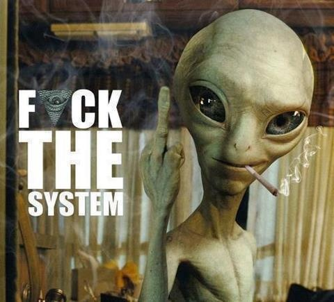 'Cause the System is sure Fucking Us!...Wake Up Sheeple and Look around!...It's not all that it is Chalked up to be...I'm just sayin!...