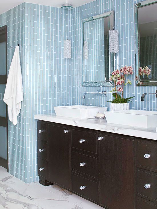 1000 Images About Master Bath On Pinterest Blue Tiles Vanities And