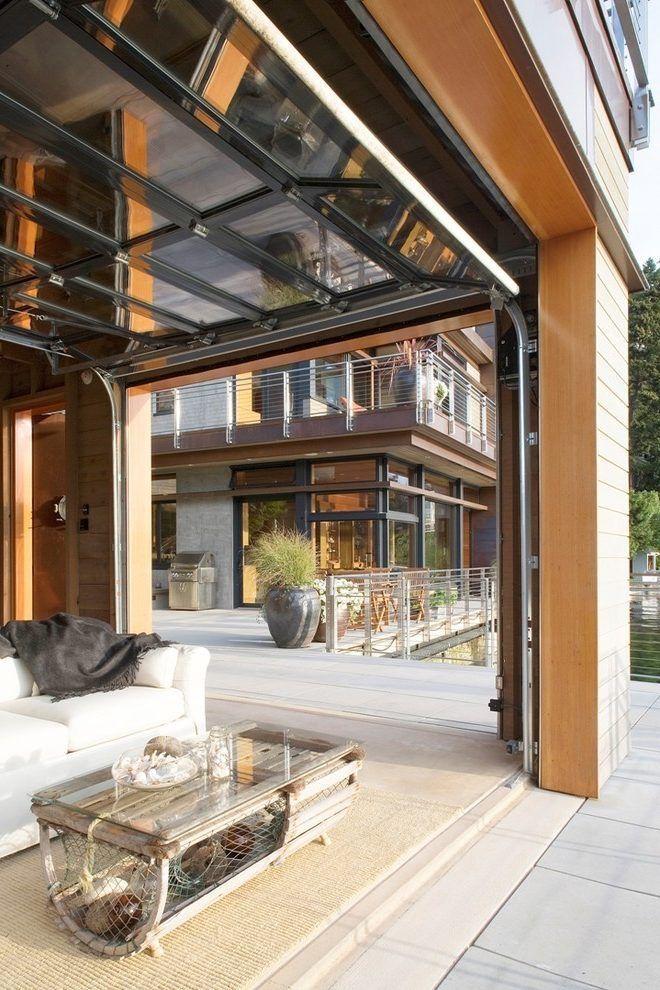 garage loft patio contemporary with sea shells wicker   rattan outdoor side tables