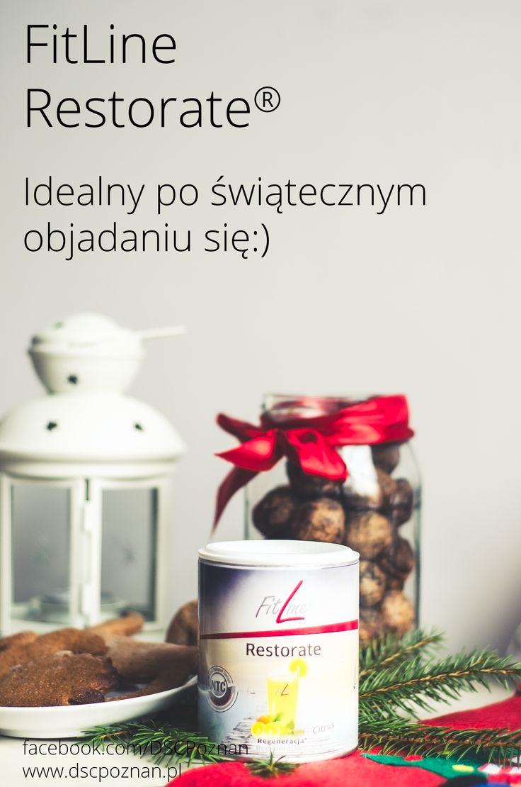 FitLine Restorate® idealny po świątecznym objadaniu się:)  htpps://facebook.com/DSCPoznan www.dscpoznan.pl