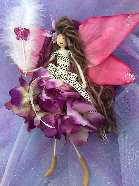 Handmade with lots of love... Perfect gift for a birthday... Christening... Giveaway... A little something just to say thank you... Or just to treat yourself:) Flower Fairy Doll designs are being handcrafted every day. I have lots of designs available so that you can find a