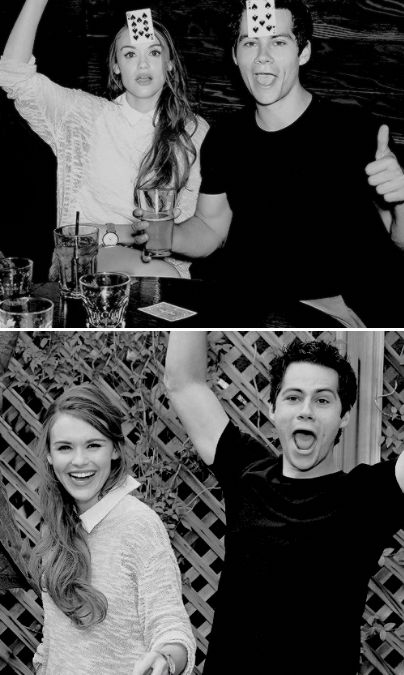 Dylan O'Brien & Holland Roden