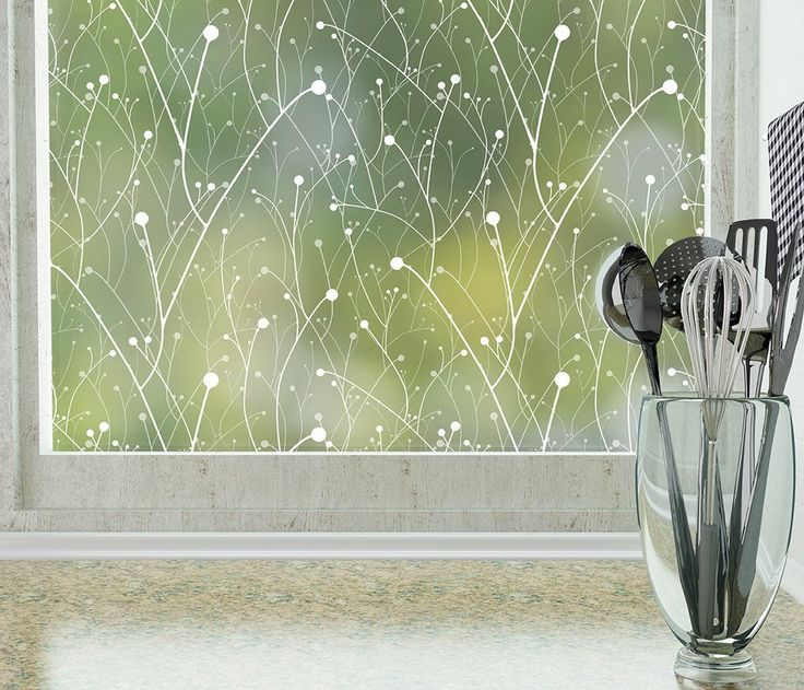 Willow Privacy Window Film (Non Adhesive)