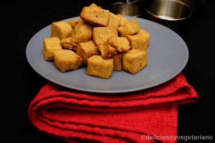 Tofu de Garbanzos COMO HACER TOFU CON HARINA DE GARBANZOS Y VARIAS RECETAS