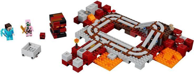 21130 - LEGO Minecraft™ - Alvilági vonat