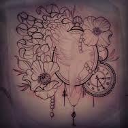 thigh tattoo?