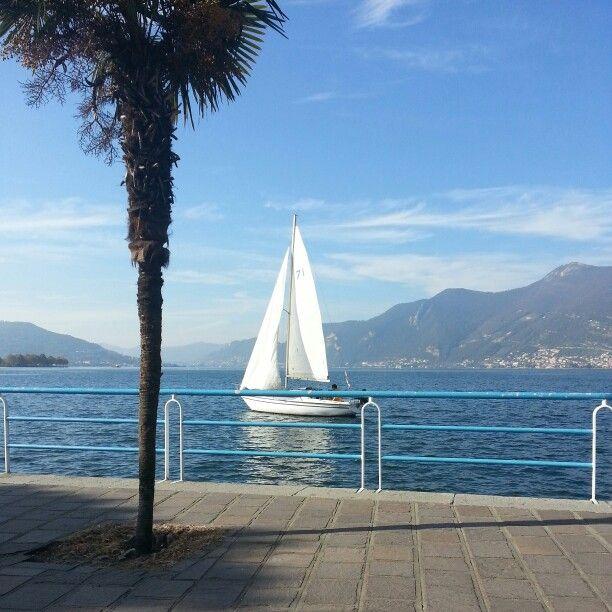 Lago d'Iseo - barca a vela