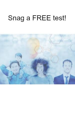 Just click Snag This now to sign up today! Complete the Health History Surveys to get a FREE DNA Test Kit! Please like this FREE offer so your Facebook friends can Snag it too. Note: The surveys take around 3-4 minutes each to complete.
