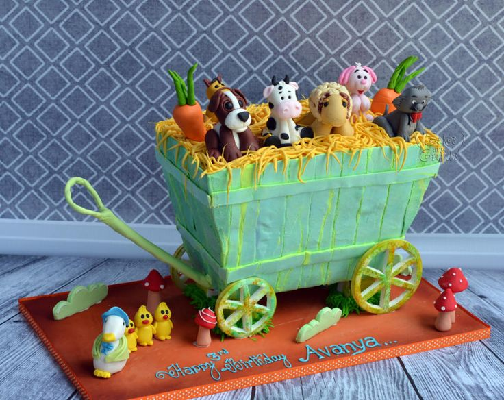 Farm Cart Cake !!!  by Hima bindu