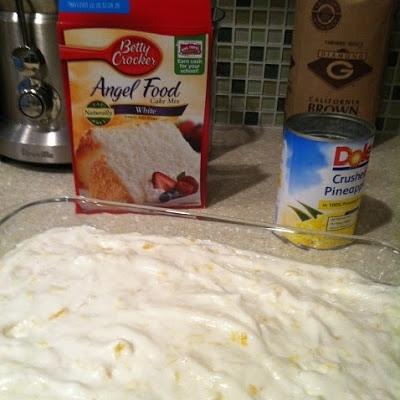 Pinapple Angle Food Cake