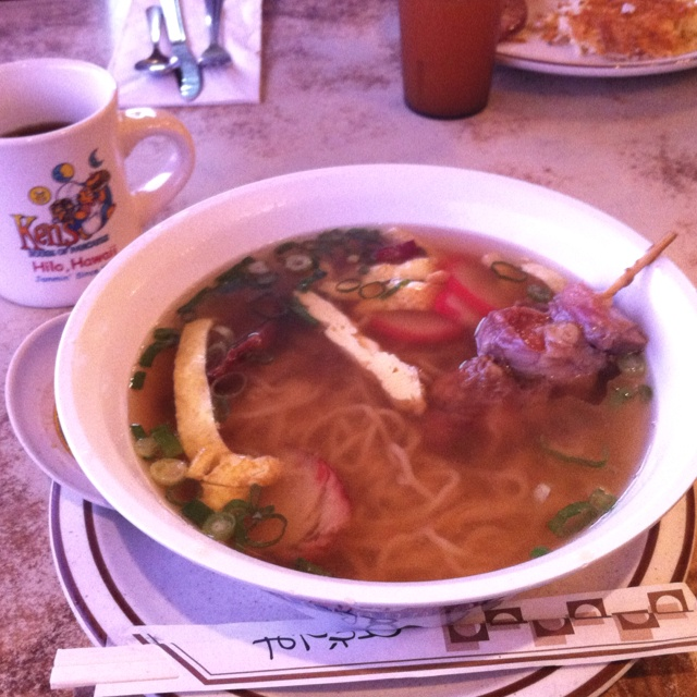 Noodles In Waimea Big Island