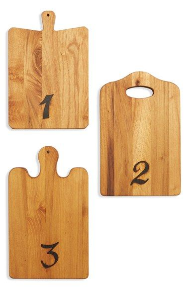 Europe2You Reclaimed Wood Tasting Boards (Set of 3) available at #Nordstrom