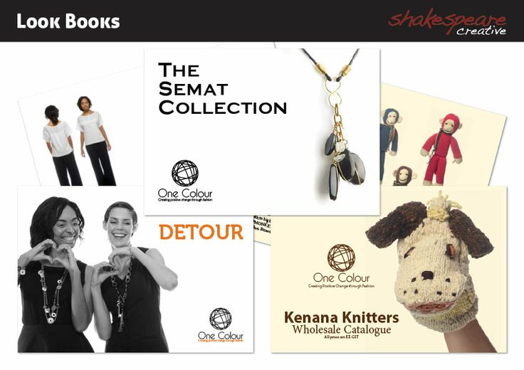 Look Books for One Colour's Product Ranges
