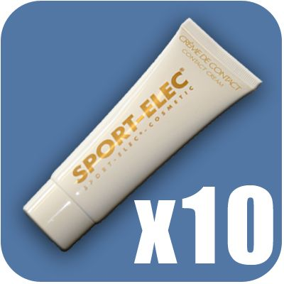 10 x 75 ml electro-conductive cream