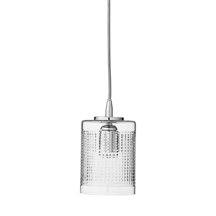 Lene+Bjerre+Melba+20cm+Pendant+Lamp+-+Silver+-+Contemporary+glass+and+polished+nickel+pendant+lamp. Illuminate+the+beauty+of+your+interior+surroundings+with+the+Lene+Bjerre+Melba+Pendant+Lamp+Silver+20cm. Inspired+by+minimalist+design,+this+unique+designer+pendant+lamp+features+a+cylindrical+glass+pendant+shade. Creating+a+dynamic+illumination,+the+exterior+of+the+shade+features+a+perforated+design+encouraging+light+to+filter+through. Complete+with+a+1.5m+cord,+the+lamp+features+a+polish...