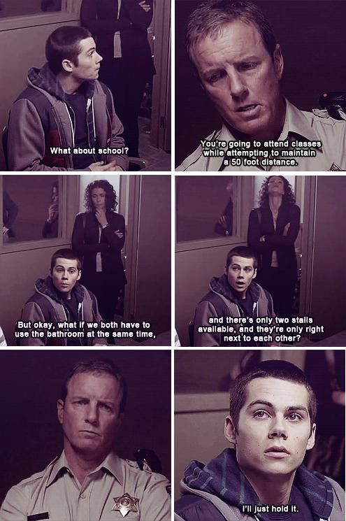 Teen Wolf.  This kid is funny though :)