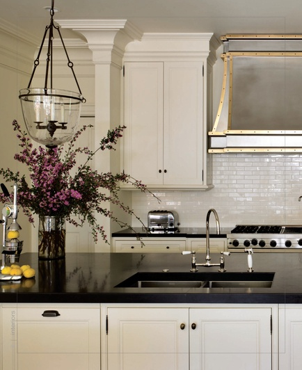 Kitchen Black Granite Countertops White Cabinets: 25+ Best Ideas About Black Granite Kitchen On Pinterest