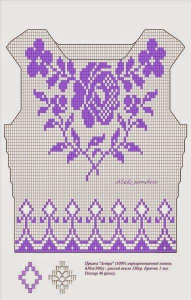 Maravilhas do Crochê: Blusinhas de Crochê Verão