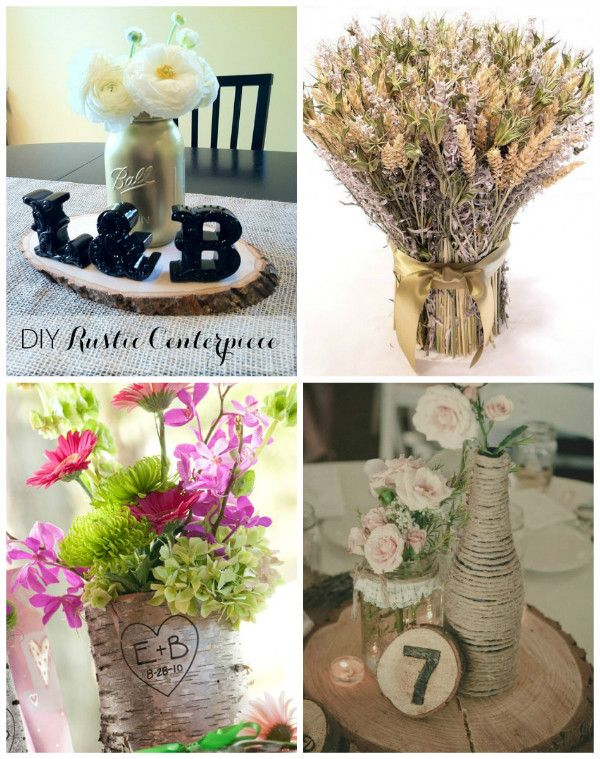 #rustic Country #wedding Ideas   Decorate Your Wedding Reception Tables  With These Rustic Country