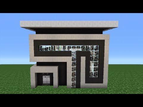 MINECRAFT How To build A Modern House Best modern House 2013