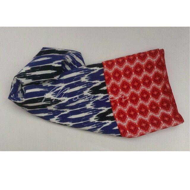 Scarf  Fabric/Bahan : Wolfis  IDR 55.000 Size : 175 cm x 75 cm