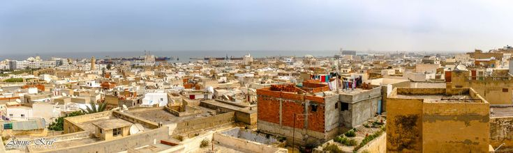 #dar essid #historic centre #panoramic view #sousse #sousse medina #tourism #traditional #tunisia