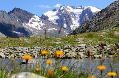 Zillertal Alps, Mayrhofen, Tyrol, Austria.