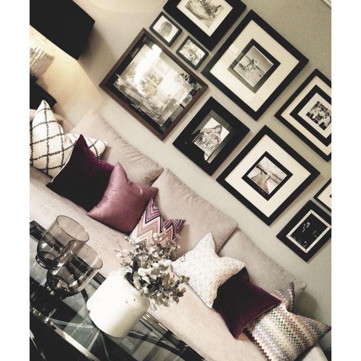Decoration wall #interior #interiordesign #design #home #diy #interiør #bolig #tipstilhjemmet